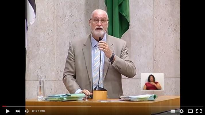 Vídeo: Ricardo Young fala sobre o PME na Sessão Plenária do dia 11 de agosto