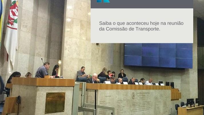 Comissão de Transporte debate a licitação de ônibus de São Paulo