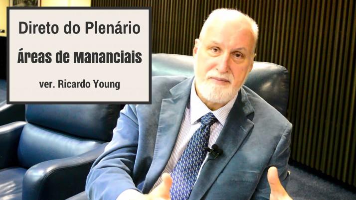 Vídeo: Direto do Plenário sobre as Áreas de Mananciais, Táxis e o Sistema S