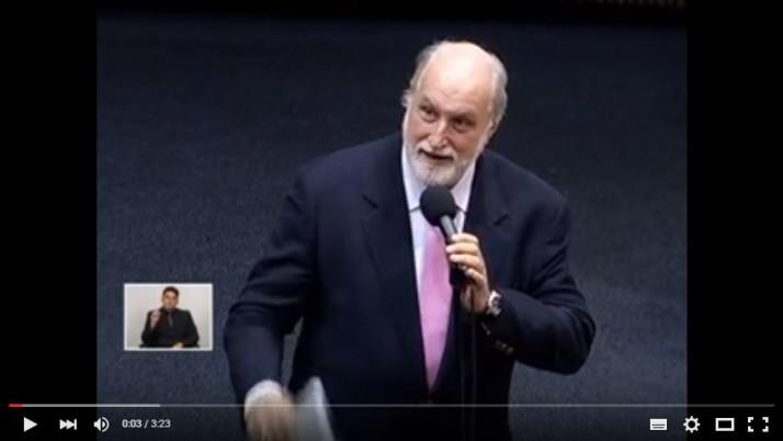 Vídeo: Pronunciamento em Sessão Plenária