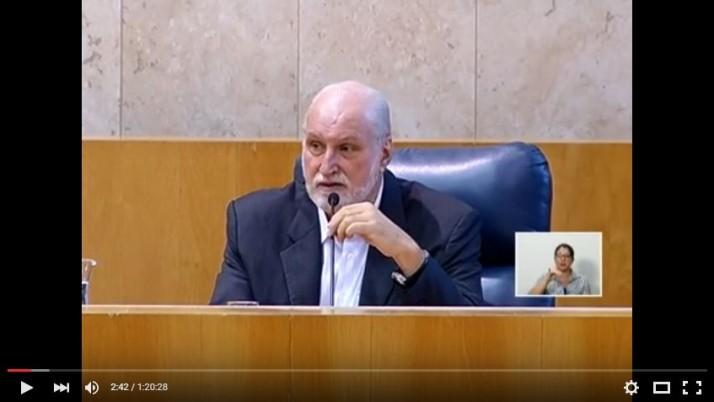 Vídeo: Evento: Aliança Pela Água fala sobre a Crise Hídrica no Plenário