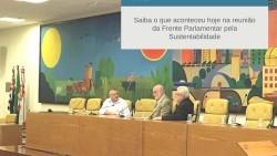 Frente Parlamentar pela Sustentabilidade apresenta suas diretrizes para novos vereadores