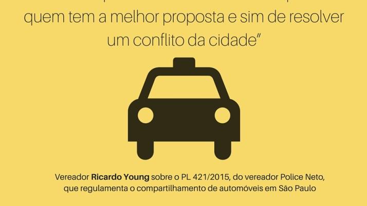 Uber X táxis: ao vencedor, as batatas!