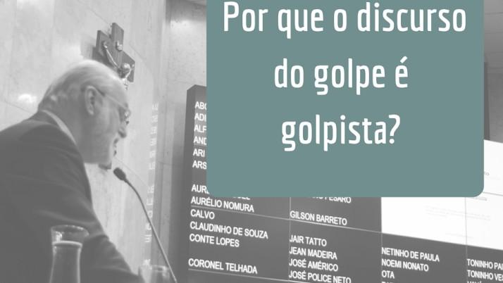 """""""Por que o discurso do golpe é golpista?"""", Ricardo Young desconstrói o discurso de golpe, defendido pelo PT"""