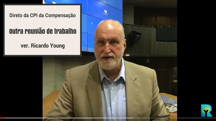 Vídeo: Ricardo Young fala sobre mais uma reunião de trabalho da CPI da Compensação