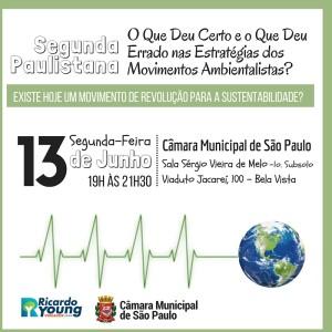 Segunda Paulistana - Movimentos Ambientalistas