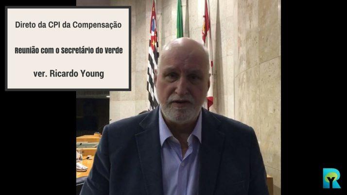 Vídeo: Direto da CPI de Compensação Ambiental – Reunião com o secretário Rodrigo Ravena