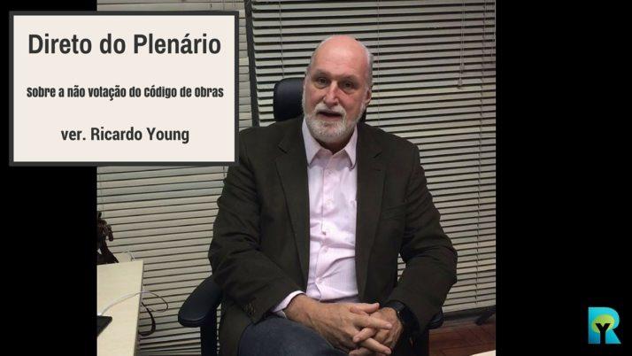 Vídeo: Direto do Plenário sobre a não votação do Código de Obras