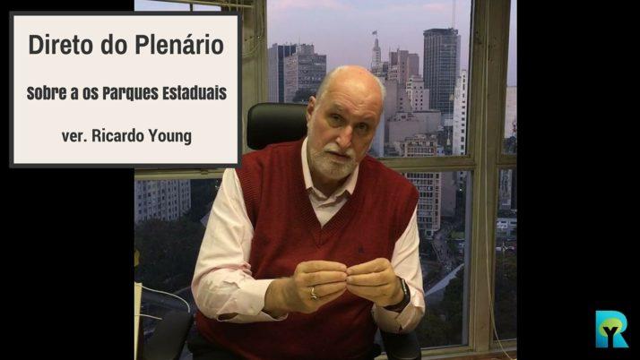 Vídeo: Direto do Plenário sobre a concessão dos parques estaduais