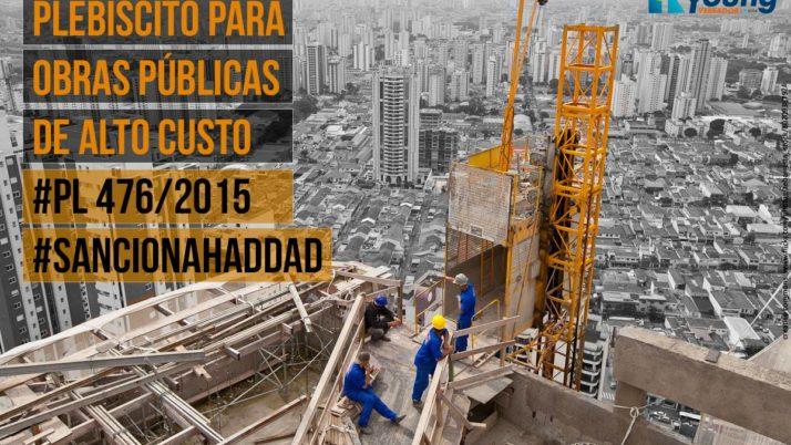 Aprovado plebiscito para obras públicas de alto custo