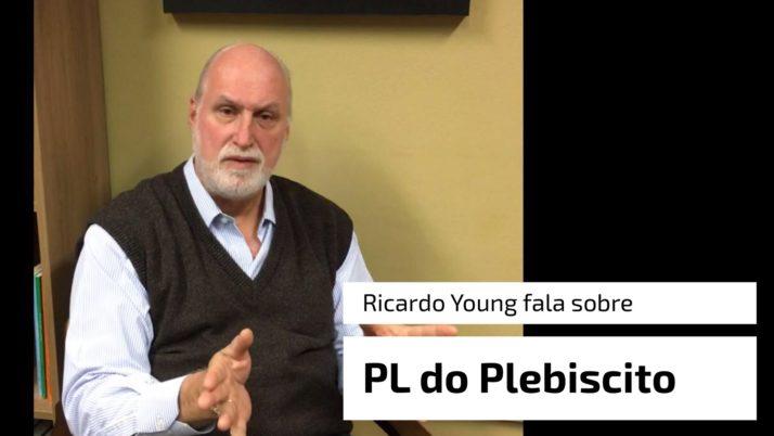 Vídeo: Ricardo fala sobre o veto ao projeto do plebiscito para grandes obras