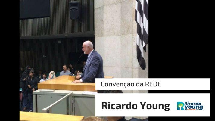 Vídeo: Ricardo Young fala na Convenção da REDE
