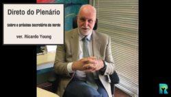 Vídeo: Direto do Plenário sobre o novo secretário do Verde